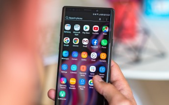 Unlocked Galaxy Note9 receives Android Pie in the US