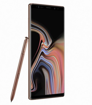 Samsung Galaxy Note9 in Metallic Copper