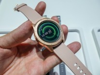 The 42mm Rose Gold Galaxy Watch