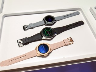 All three color variants of the Galaxy Watch