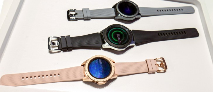 Samsung Galaxy Watch Hands On Gsmarena Com News