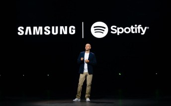 Samsung makes Spotify its go-to music platform