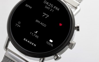 New Skagen Falster 2 smartwatch gets GPS and a heart rate sensor, is swim-proof