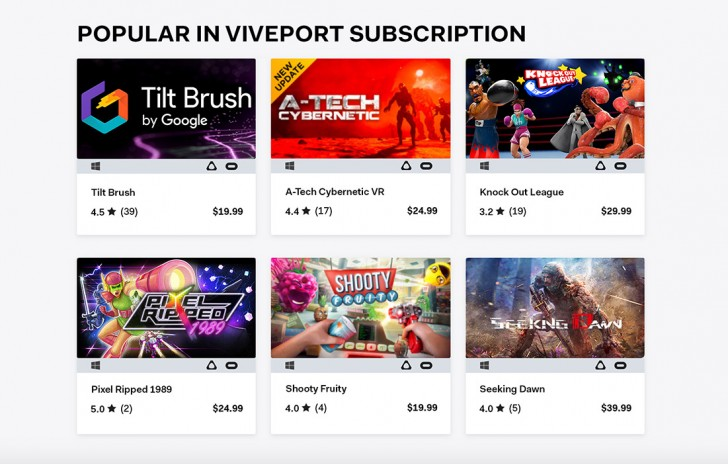 Games from HTC's Viveport store will soon support the Oculus Rift
