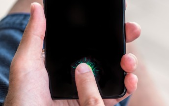 There's a vivo NEX A with an in-display fingerprint scanner in the works