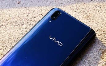 Rumored vivo V11 leaks in live images with Waterdrop screen