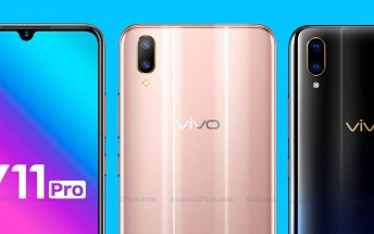 Fresh renders of vivo V11 Pro are here to confirm the specs and the design