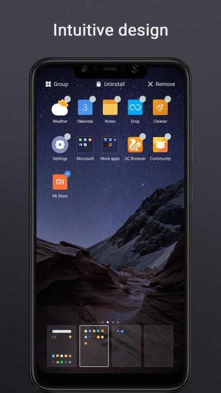 Poco Launcher appears on Google Play - GSMArena com news