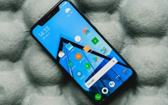Xiaomi Pocophone F1 first image appears (Update: No, it doesn't!)