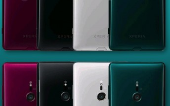 Four Sony Xperia XZ3 color options leak before announcement
