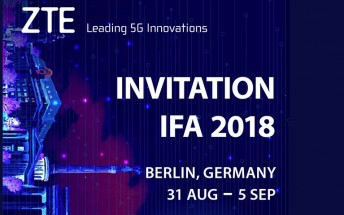 ZTE is officially back, may announce Axon 9 at IFA 2018
