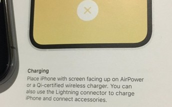 Apple mentions AirPower charging mat in iPhone manual, should someone tell them?