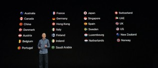 Availability starts with 26 countries and the LTE version availability