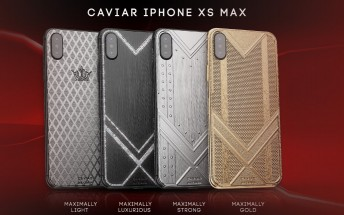 Caviar decks the iPhone XS Max in diamonds, carbon, titanium and gold