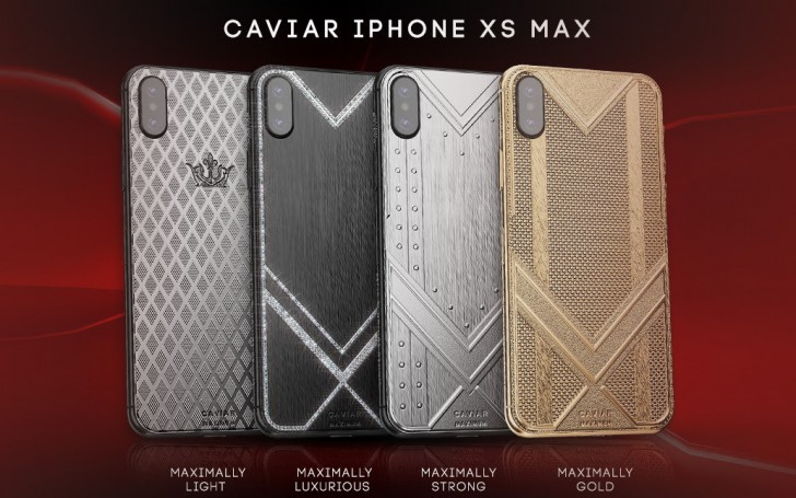 gsmarena 005 - Caviar decks the iPhone XS Max in diamonds, carbon, titanium and gold