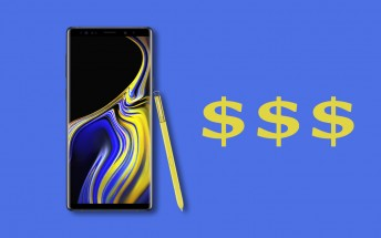 Deals: Samsung Galaxy Note9 down to �700, Note8 to �474