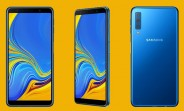 Samsung Galaxy A7 (2018) announced - triple camera and Super AMOLED display
