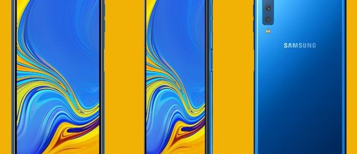 Samsung Galaxy A7 (2018) debuts with triple camera, AMOLED display