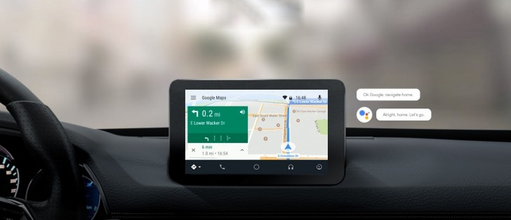 Google Assistant arrives on Android Auto - GSMArena com news