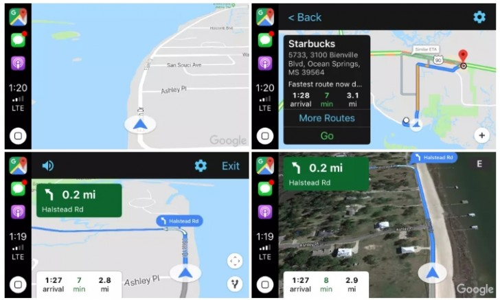 Google Maps now works with Apple's CarPlay in iOS 12 - GSMArena com news