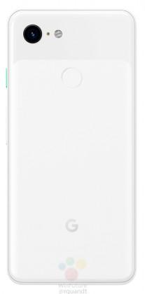 Google Pixel 3 in white