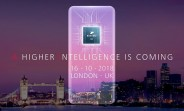 Huawei Mate 20 official invite reveals square camera setup and AI focus