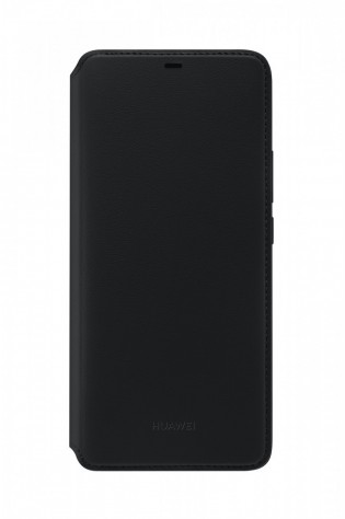 Huawei Mate 20 Pro in its PU Wallet cover
