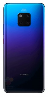 gsmarena 003 - Alleged renders of the Huawei Mate 20 Pro show a triple cam and in-display fingerprint
