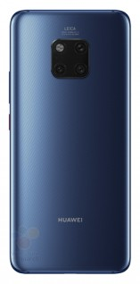 gsmarena 005 - Alleged renders of the Huawei Mate 20 Pro show a triple cam and in-display fingerprint
