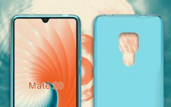Huawei Mate 20 Pro case hints at in-display fingerprint reader, stereo speakers