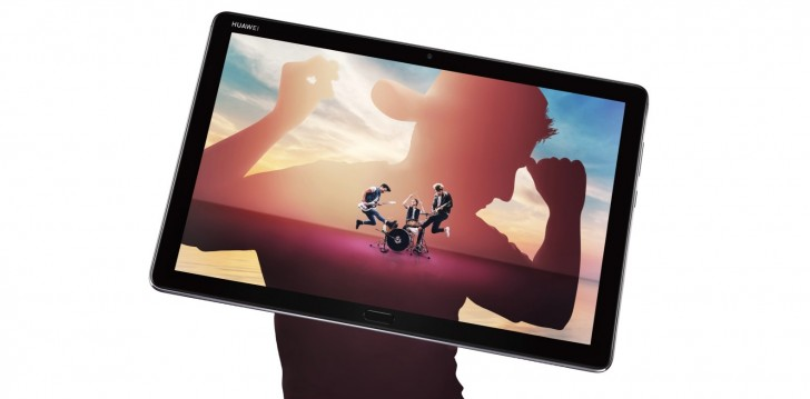 gsmarena 002 - Huawei quietly launches MediaPad M5 lite tablet with four speakers, 10.1-inch display