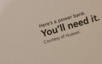 Huawei gave away free power banks to people queuing for iPhones