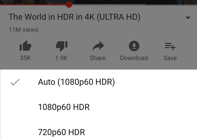 gsmarena 001 - YouTube adds HDR support on iPhone XS and XS Max