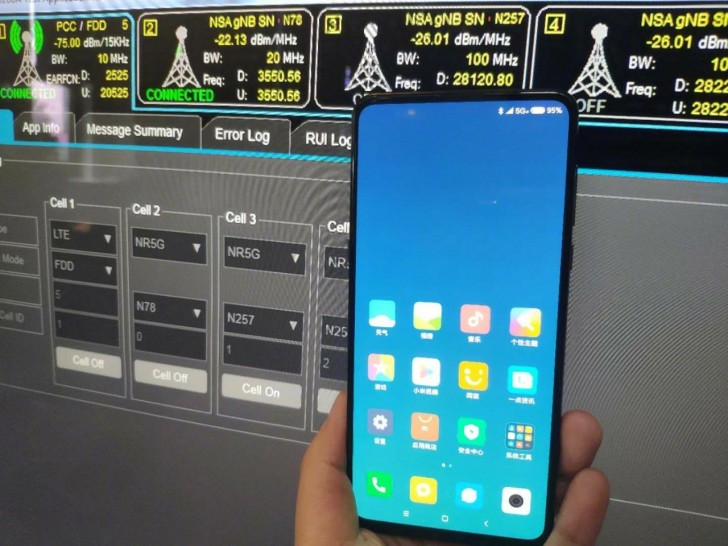 The Xiaomi Mi Mix 3 will support 5G networks