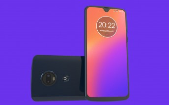 Motorola Moto G7 rumor-based renders surface