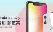 Motorola P30 Play listed on Motorola's website suggesting launch is imminent
