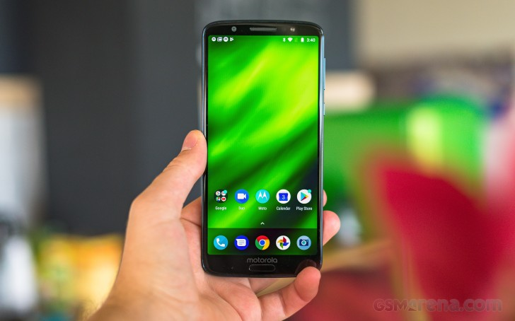 low priced 964f7 d2462 Moto G6 Plus arrives in India with 6 GB RAM for $310 - GSMArena.com news