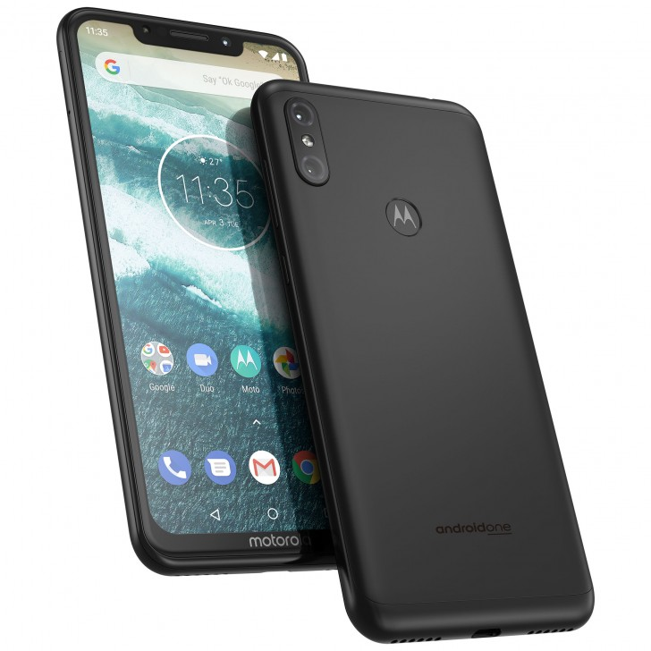 Motorola One Power with notch display, 5,000mAh battery launched