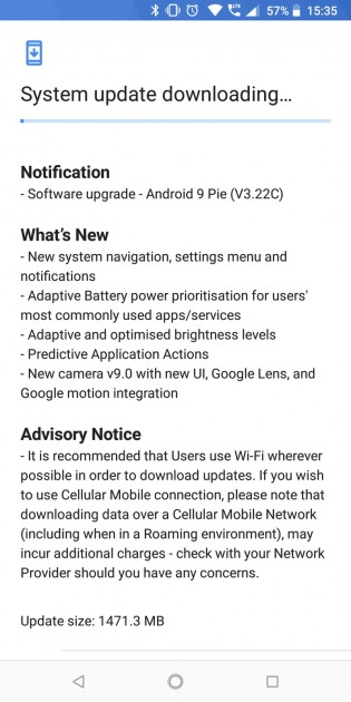 gsmarena 002 - Nokia 7 plus now receiving Android Pie