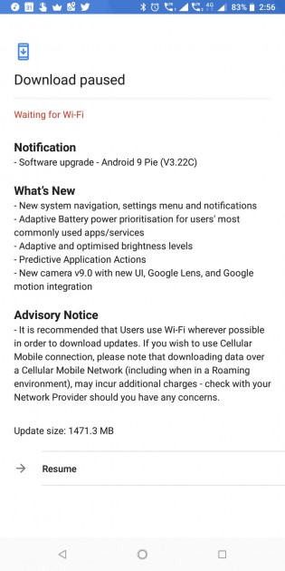 gsmarena 003 - Nokia 7 plus now receiving Android Pie
