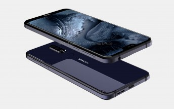 Nokia 7.1 Plus shines in new rumor-based renders, back panel leaks from factory