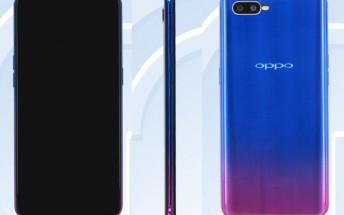 A toned-down version of the Oppo R17 appears on TENAA, likely running Helio P60