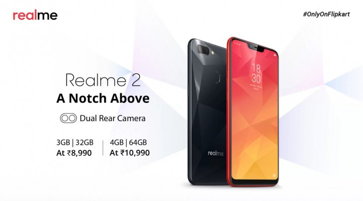 963d01bdd20 Oppo Realme 2 sales start tomorrow - GSMArena.com news