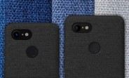 Google Pixel 3 and Pixel 3 XL renders leak, cloth cases in tow