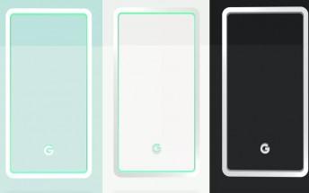 Google possibly reveals Pixel 3 color versions