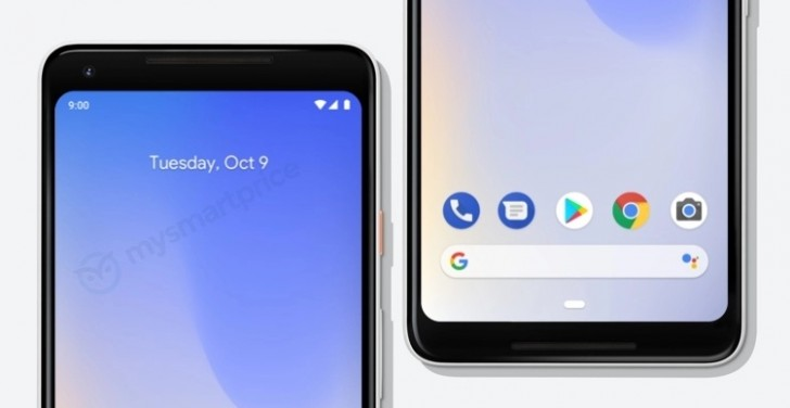 gsmarena 001 - Google Pixel 3 promo materials leak, showing it off one more time