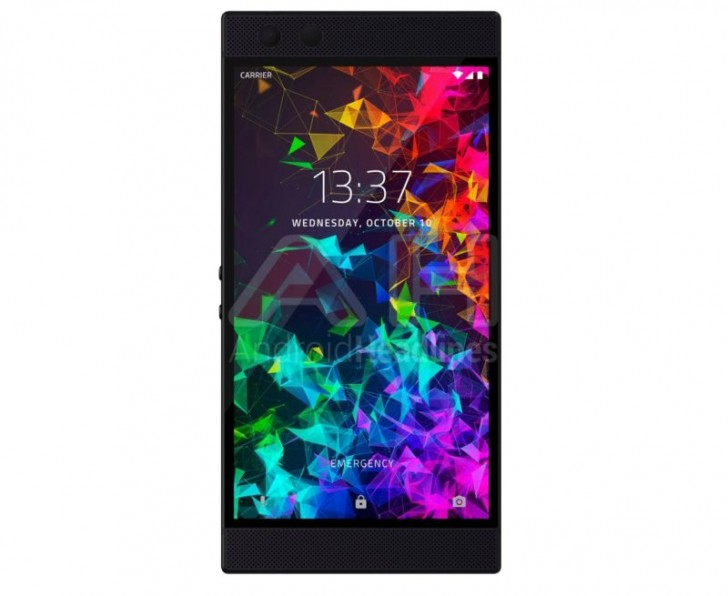 gsmarena 002 - Razer Phone 2 looks the same as the original, leaked image shows