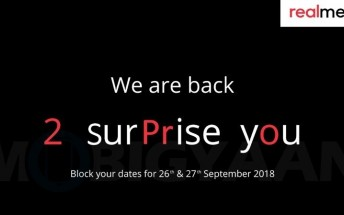 Realme 2 Pro to be announced on September 27