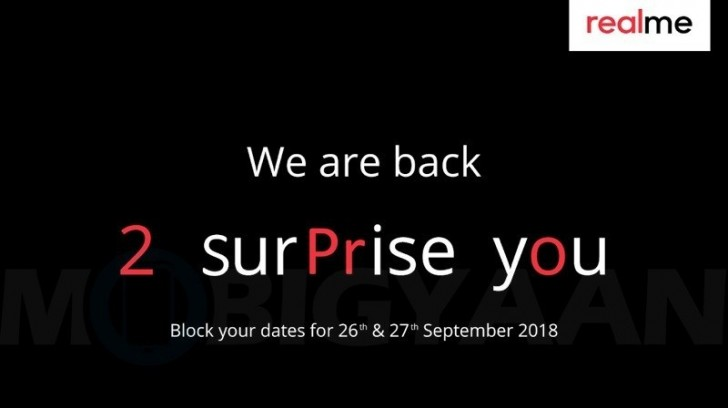 gsmarena 001 - Realme 2 Pro to be announced on September 27