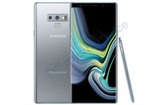 Silver Samsung Galaxy Note9 is launching soon in the US